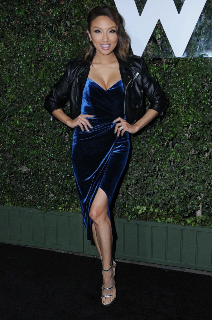 Jeannie Mai at the Who What Wear 10th Anniversary in Los Angeles-1