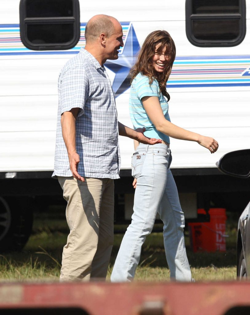 Jessica Biel on the Set of Shock And Awe in New Orleans-4
