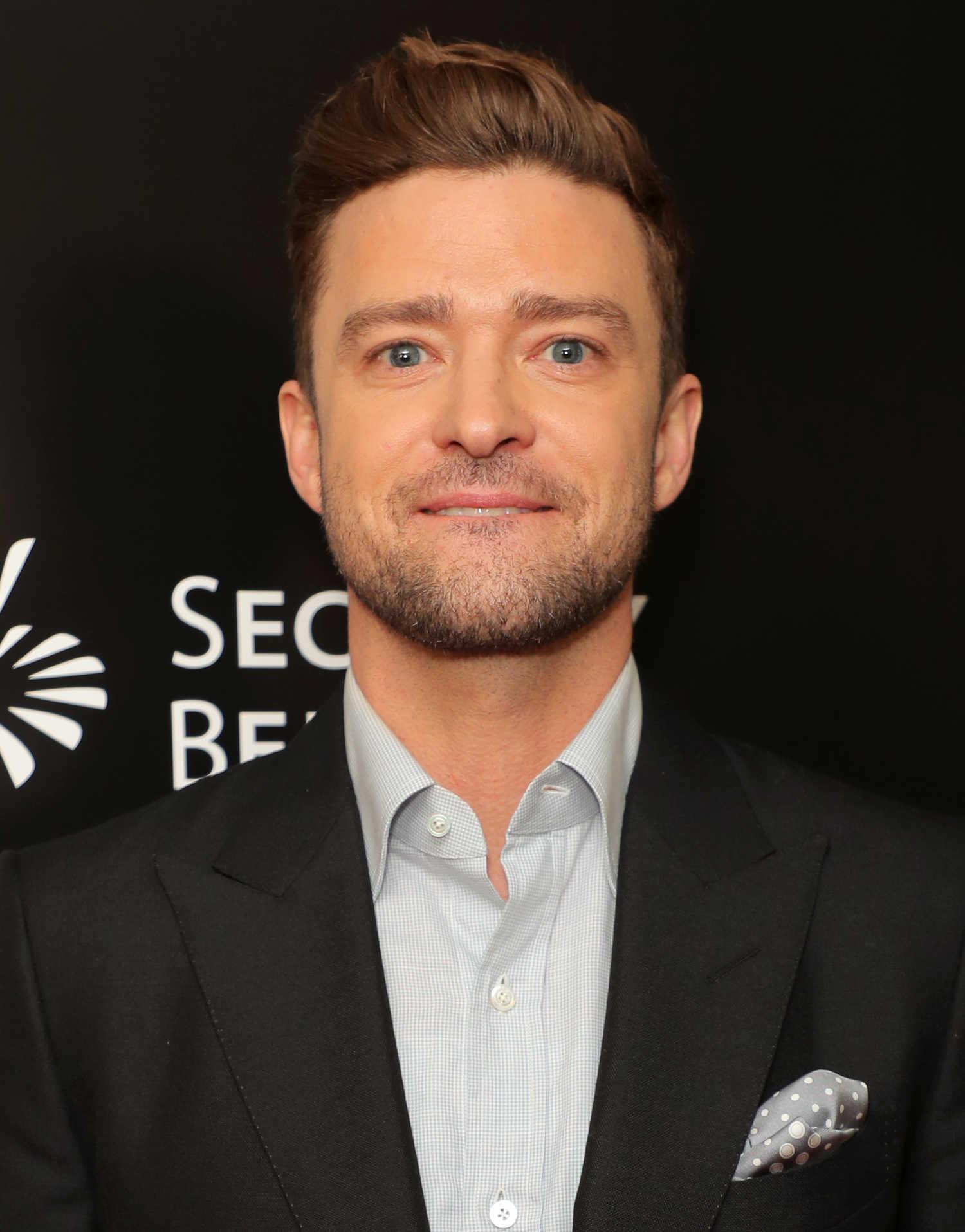 Justin Timberlake at the Trolls Australian Premiere in