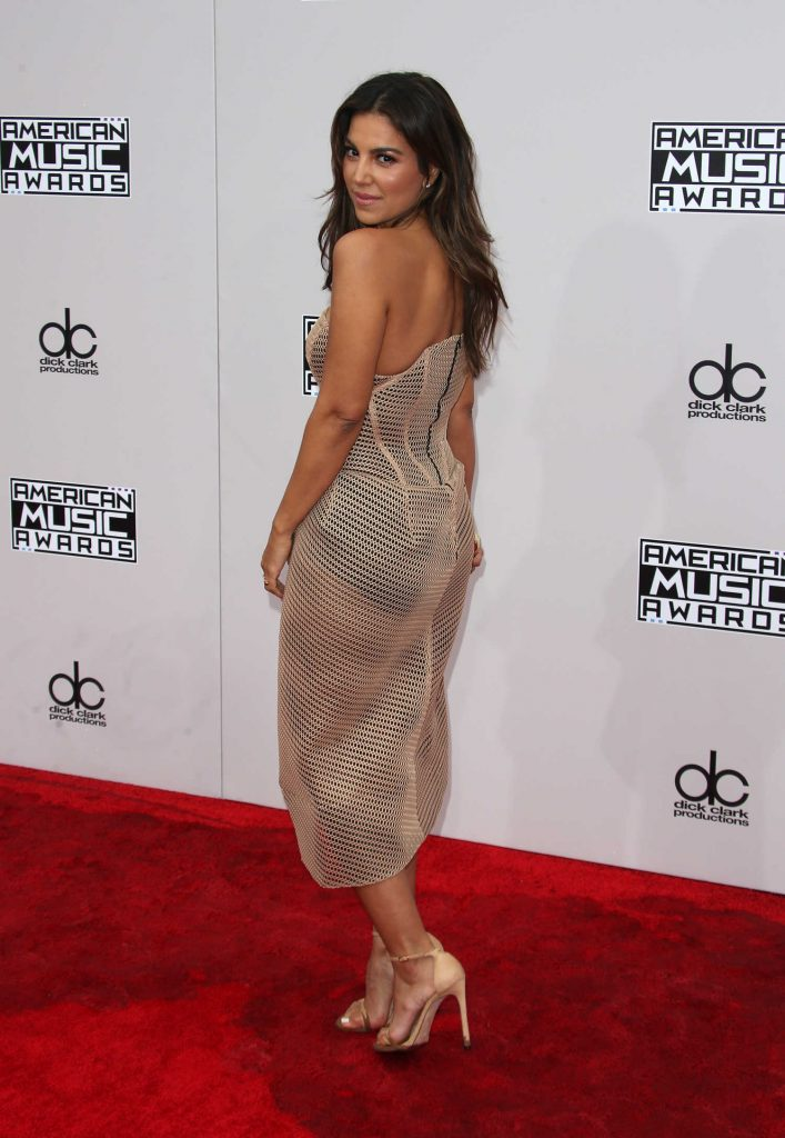Liz Hernandez at the 2016 American Music Awards at the Microsoft Theater in Los Angeles-4