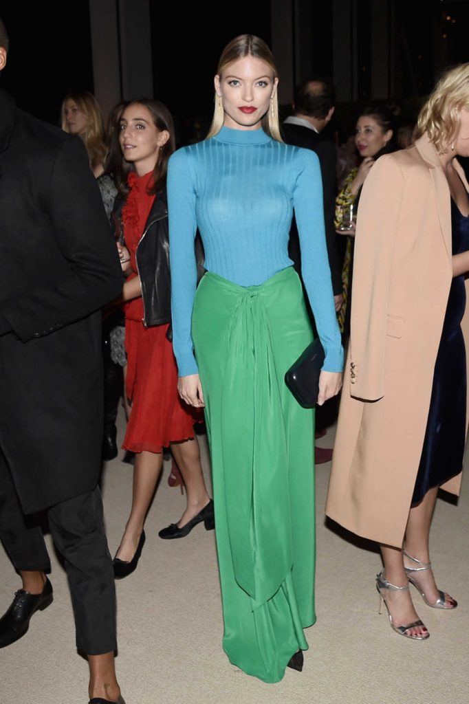 Martha Hunt at the 13th Annual CFDA/Vogue Fashion Fund Awards in New York City-3