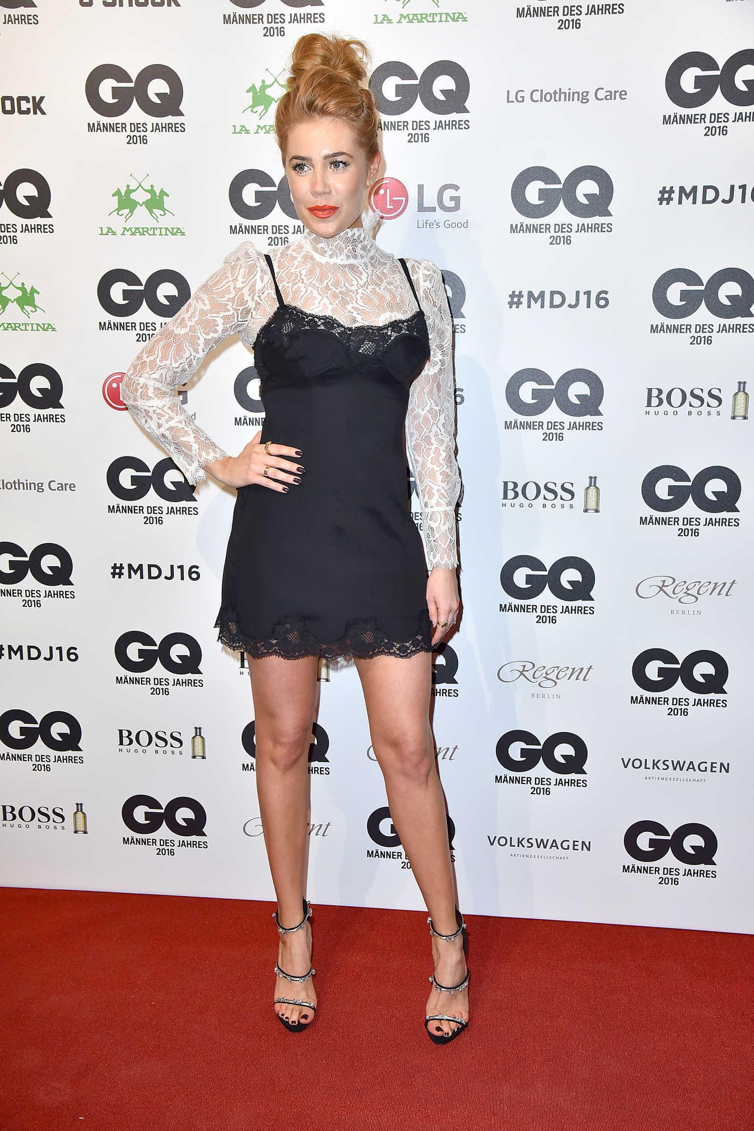 Palina Rojinski at the GQ Men of the Year Awards in Berlin