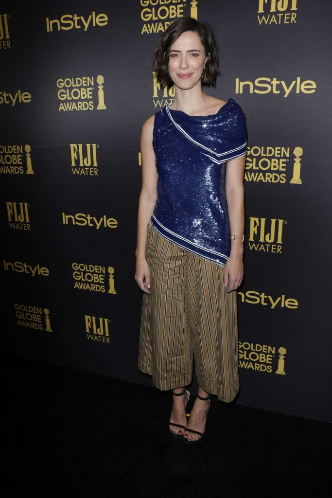 Rebecca Hall at the HFPA and InStyles Celebration of the 2017 Golden Globe Awards Season in West Hollywood-2