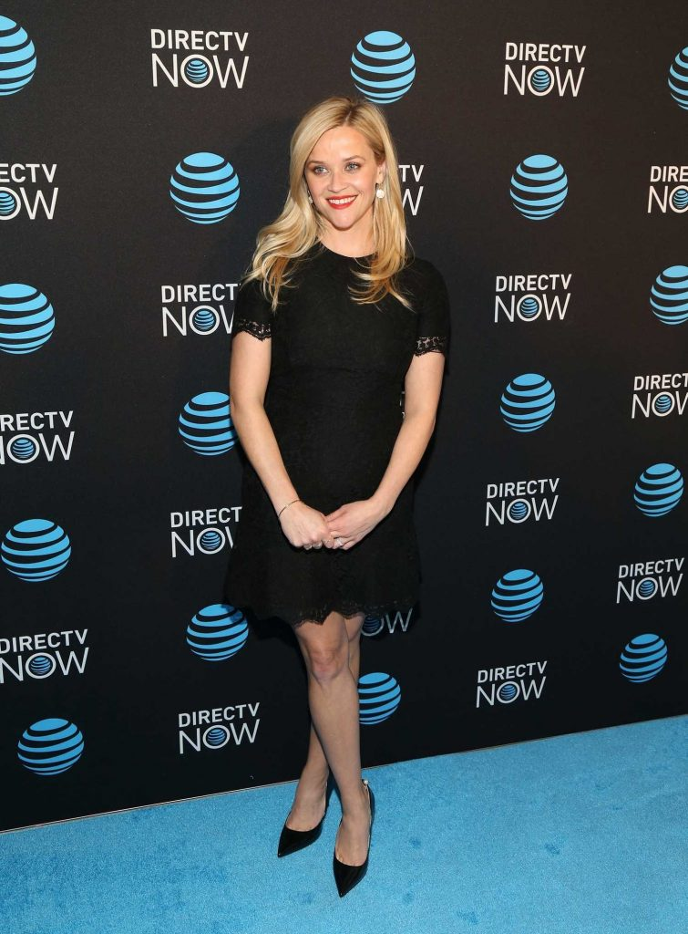 Reese Witherspoon Attends the DirectTV Now Launch at Venue 57 in New York City-1