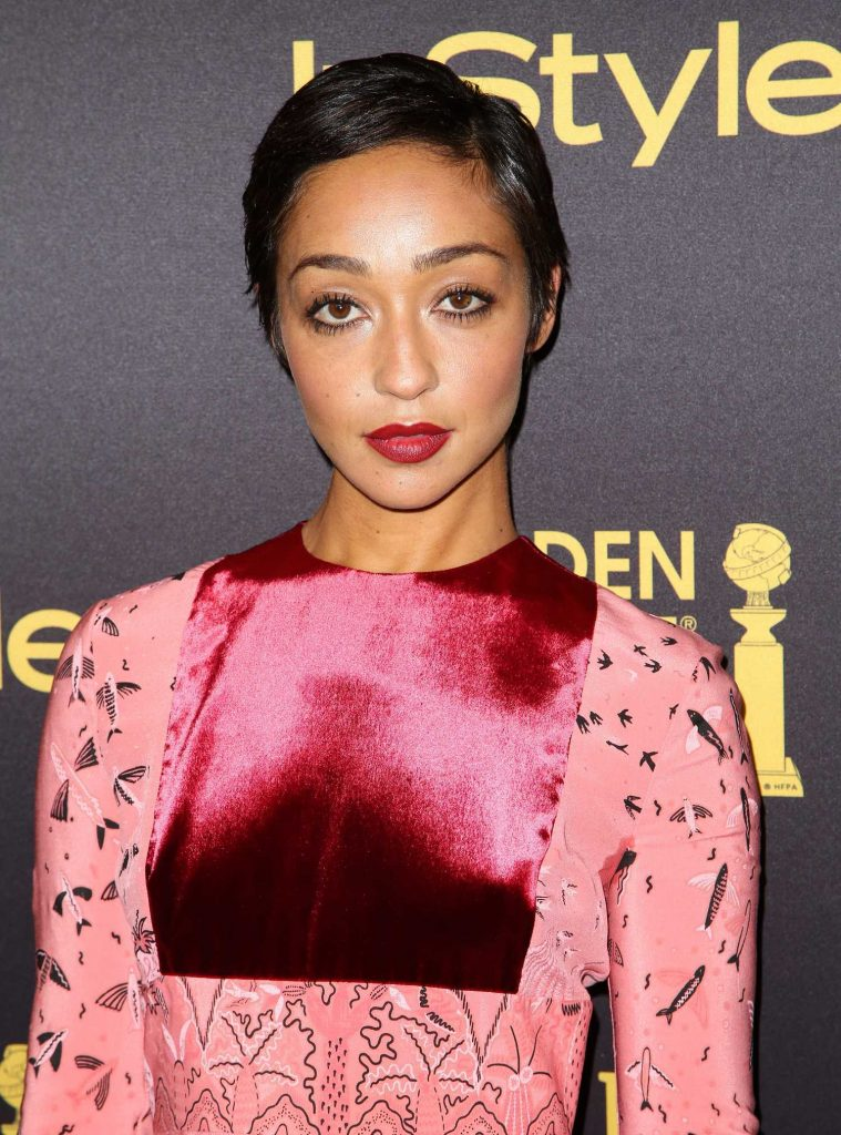 Ruth Negga at the HFPA and InStyles Celebration of the 2017 Golden Globe Awards Season in West Hollywood-4