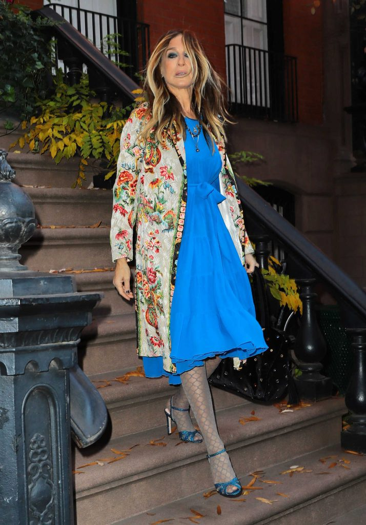 Sarah Jessica Parker Was Seen Out in New York City-1