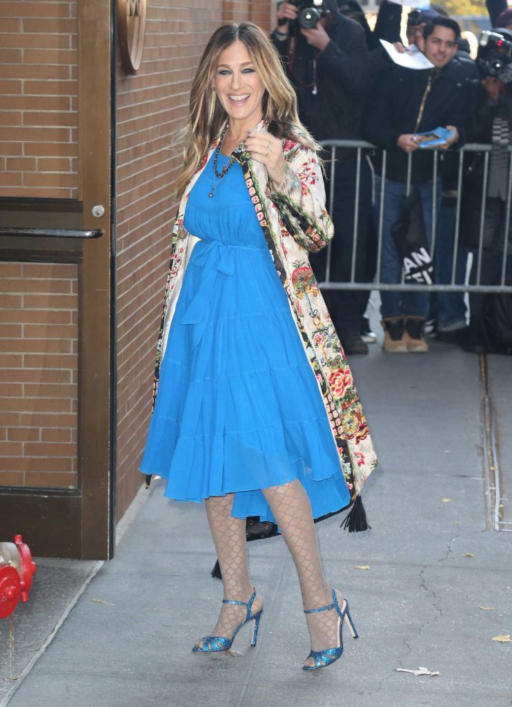 Sarah Jessica Parker Was Seen Out in New York City-3