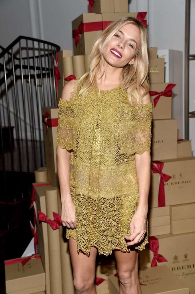 Sienna Miller at The Tale of Thomas Burberry Celebration in New York-1