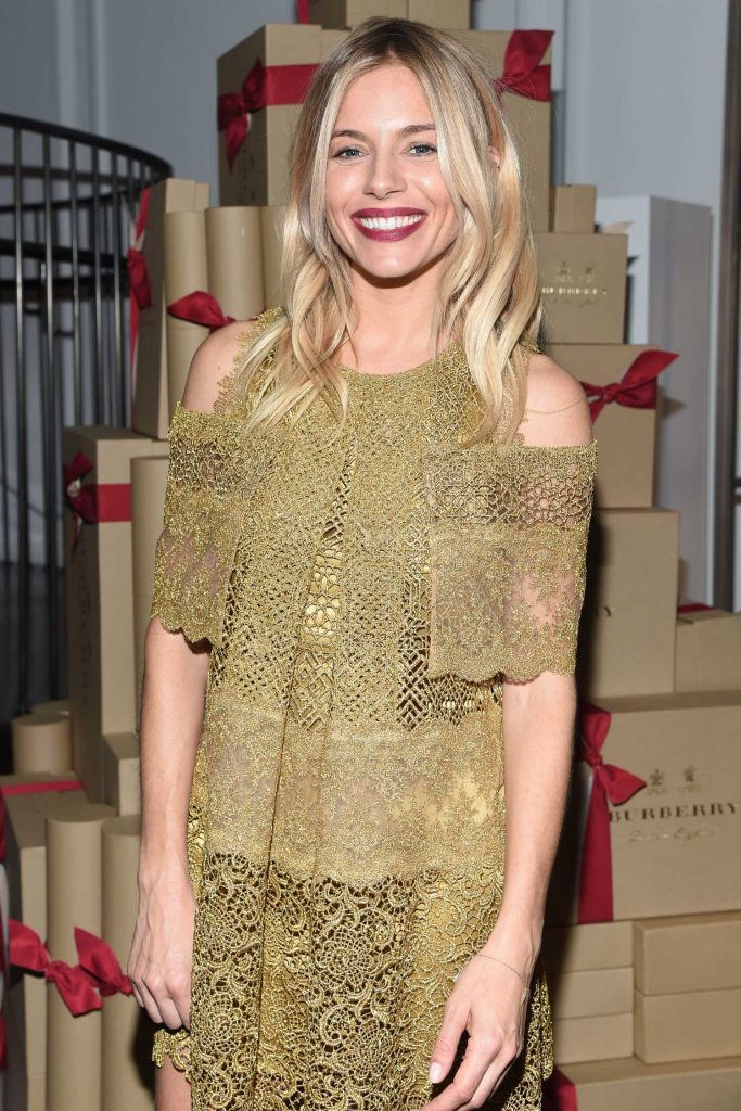 Sienna Miller at The Tale of Thomas Burberry Celebration in New York-2