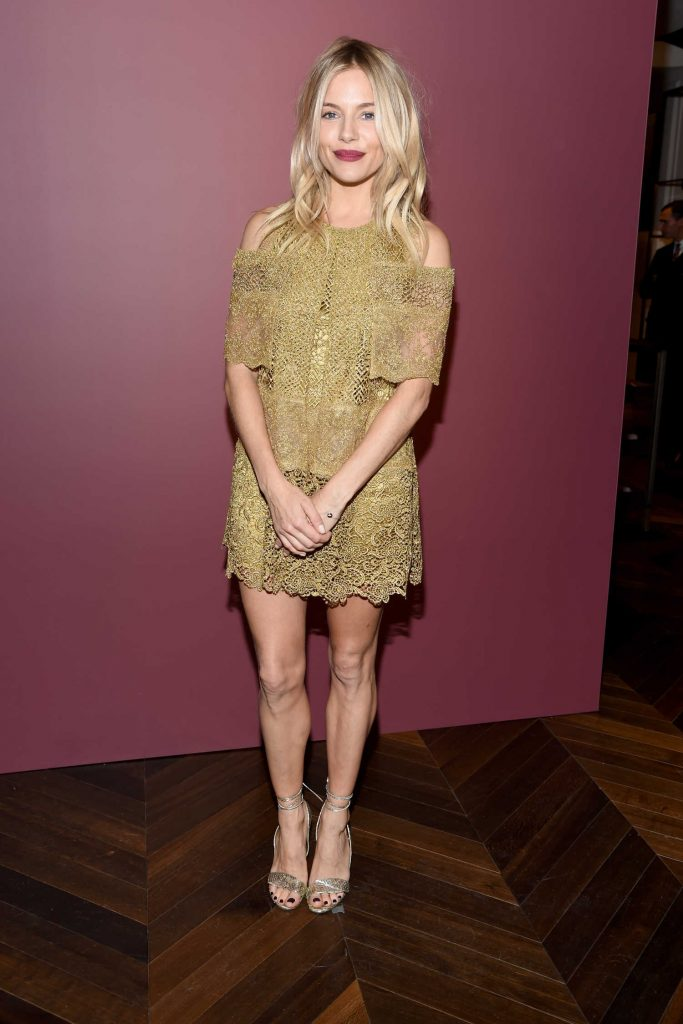 Sienna Miller at The Tale of Thomas Burberry Celebration in New York-5