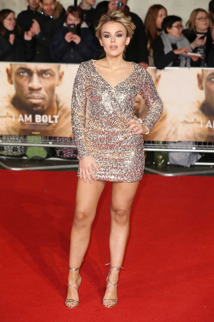 Tallia Storm at I am Bolt Premiere in London-1