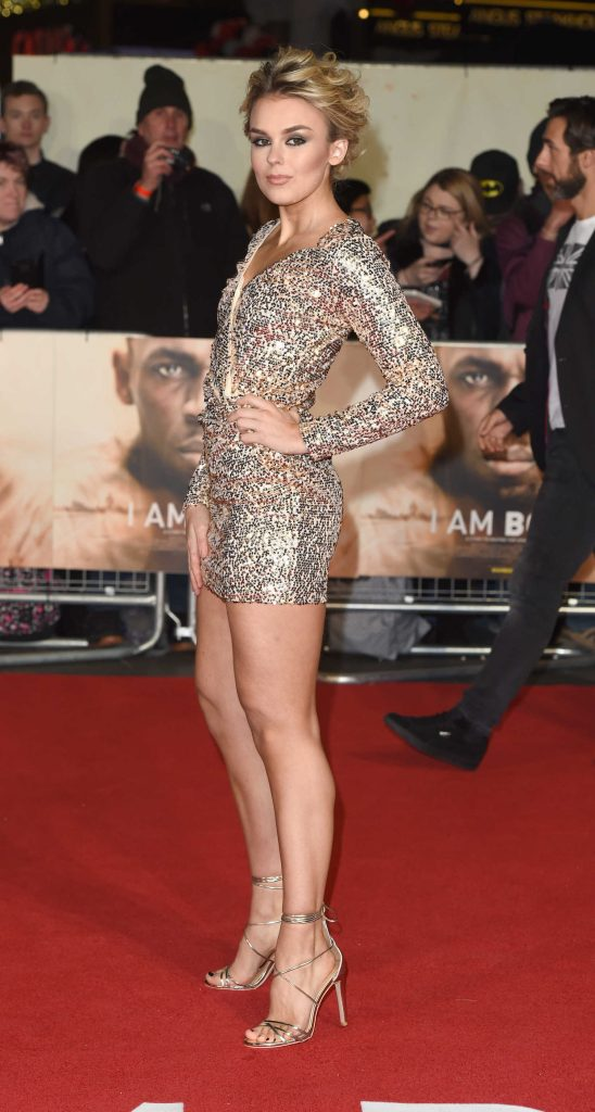 Tallia Storm at I am Bolt Premiere in London-2