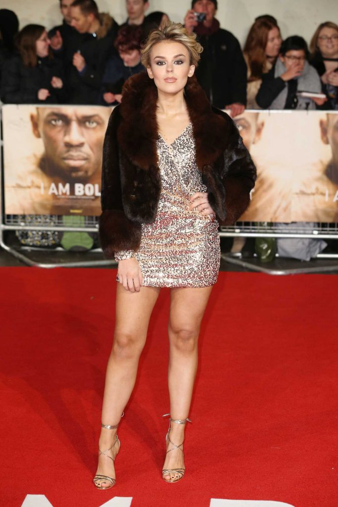 Tallia Storm at I am Bolt Premiere in London-4