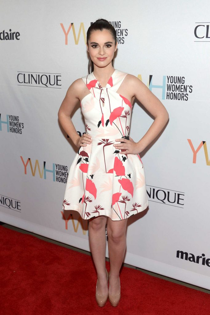 Vanessa Marano at the 1st Annual Marie Claire Young Women's Honors in Marina Del Rey-1