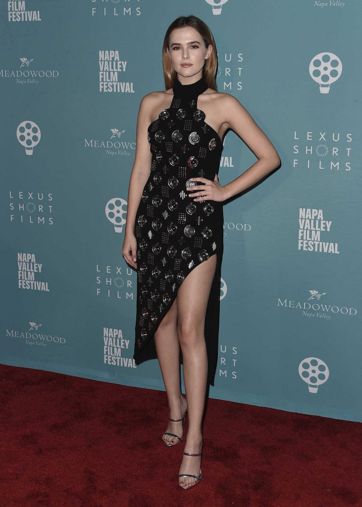 Zoey Deutch at the 2016 Napa Valley Film Festival in Yountville-2