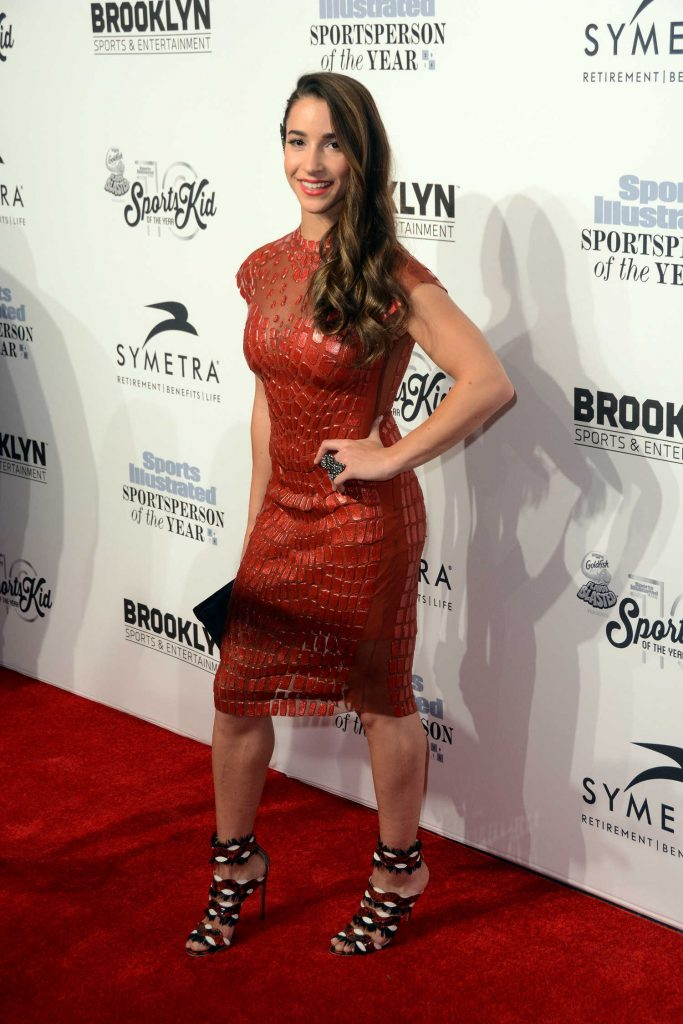 Aly Raisman at the Sports Illustrated Sportsperson of the Year 2016 Event at Barclays Center in New York-2