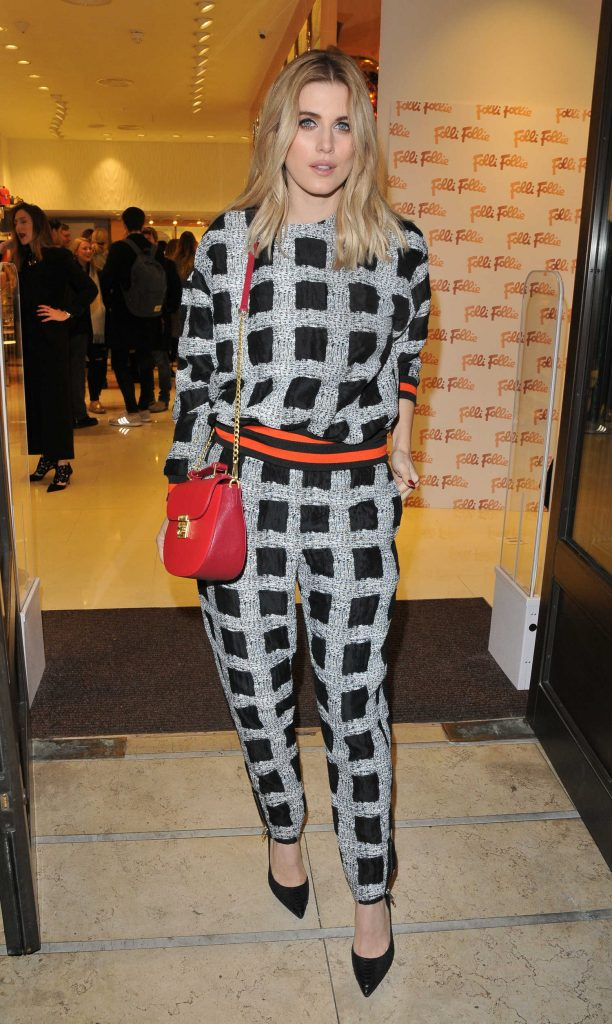 Ashley James at the Folli Follie Concept Store Launch Party in London-1