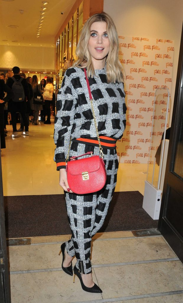 Ashley James at the Folli Follie Concept Store Launch Party in London-2