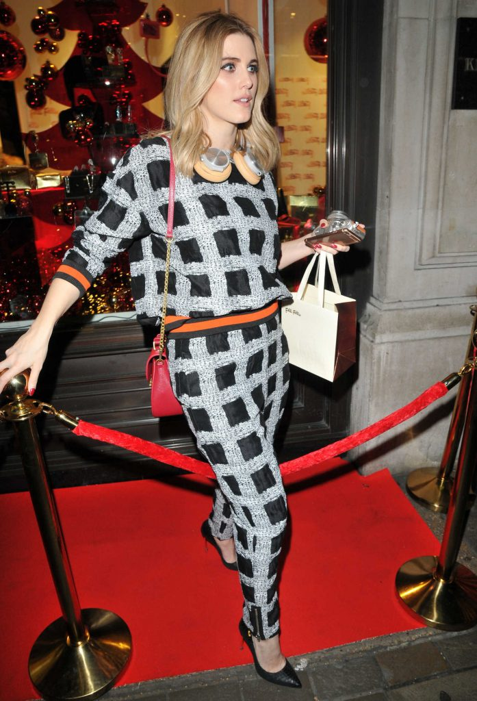 Ashley James at the Folli Follie Concept Store Launch Party in London-3