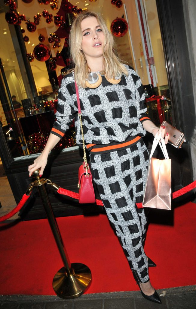 Ashley James at the Folli Follie Concept Store Launch Party in London-4