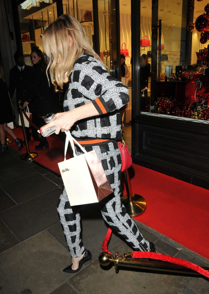 Ashley James at the Folli Follie Concept Store Launch Party in London-5
