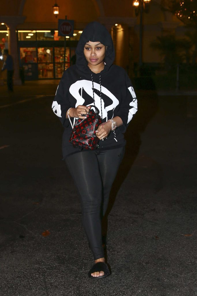 Blac Chyna Leaves Ralph's Grocery Store in Calabasas-1