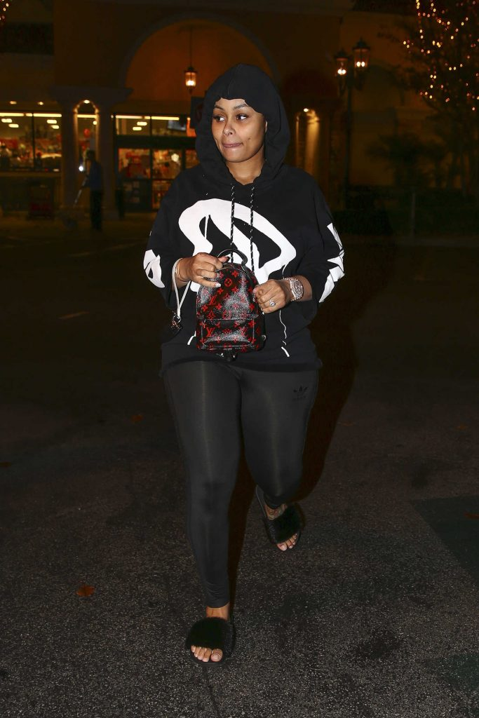 Blac Chyna Leaves Ralph's Grocery Store in Calabasas-2
