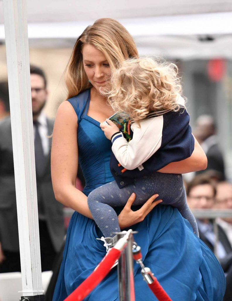 Blake Lively at Ryan Reynolds Honored With Star on the Hollywood Walk of Fame in Los Angeles-5