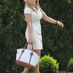 Carol Vorderman Arrives at Palazzo Versace Hotel on the Gold Coast
