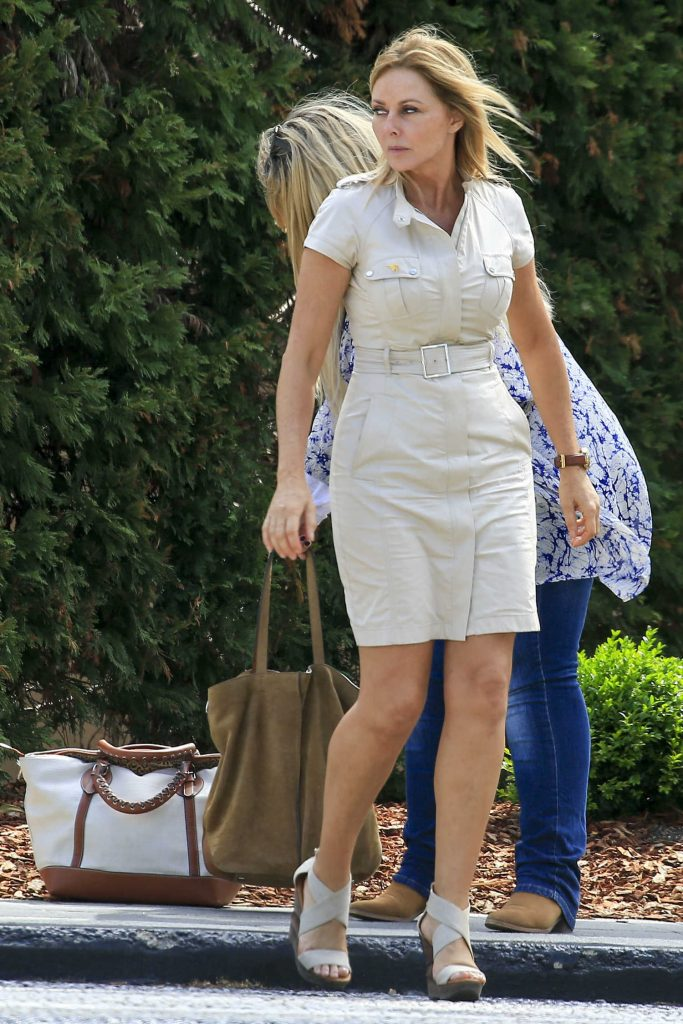 Carol Vorderman Arrives at Palazzo Versace Hotel on the Gold Coast-2