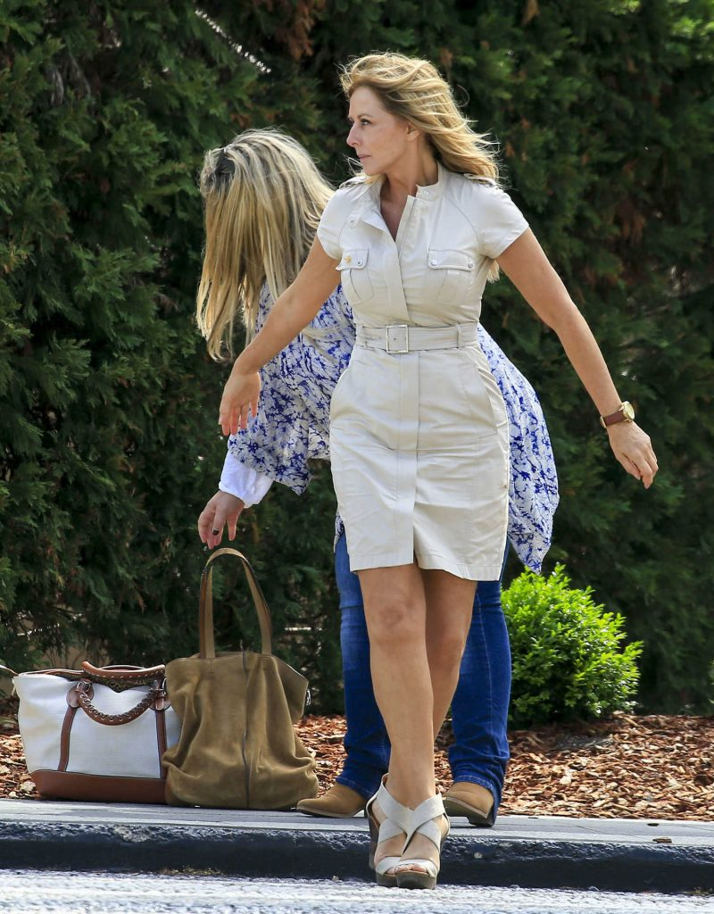 Carol Vorderman Arrives at Palazzo Versace Hotel on the Gold Coast-3