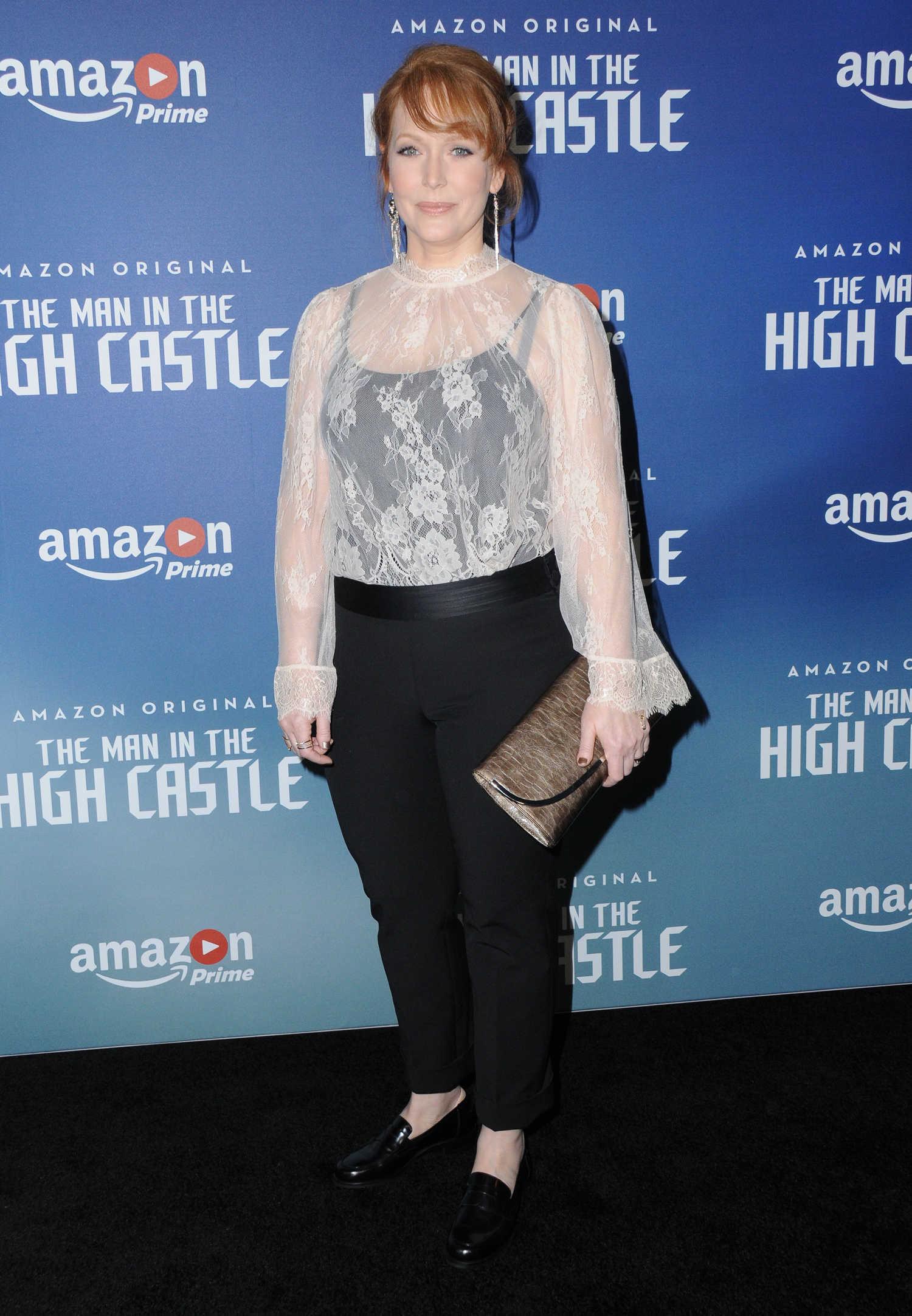 Chelah Horsdal at The Man in The High Castle Season 2 Los