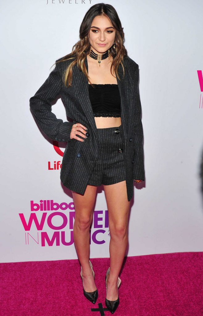 Daya at the Billboard Women in Music 2016 Event at Pier 36 in NYC-1