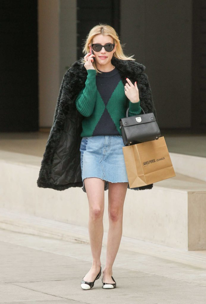 Emma Roberts Goes Shopping in Beverly Hills-1