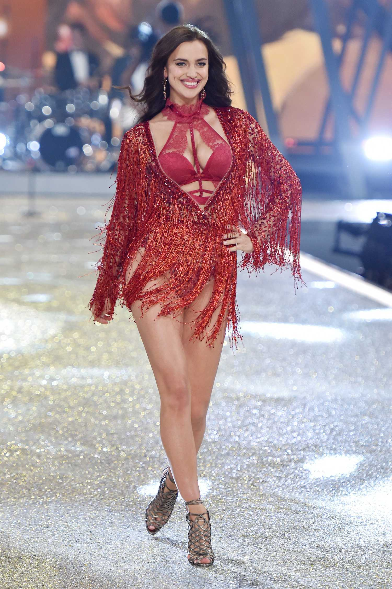 Irina Shayk At The 2016 Victoria S Secret Fashion Show