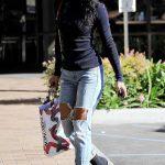 Karrueche Tran Goes Shopping in Los Angeles