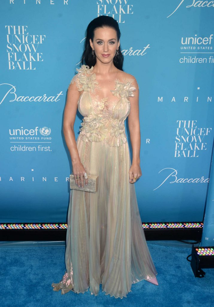 Katy Perry at UNICEF's 12th Annual Snowflake Ball in New York-1