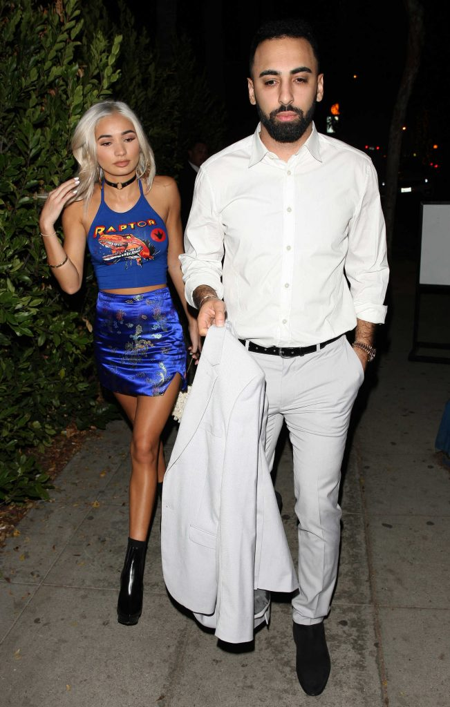 Pia Mia Arrives to the Delilah Night Club in West Hollywood-4