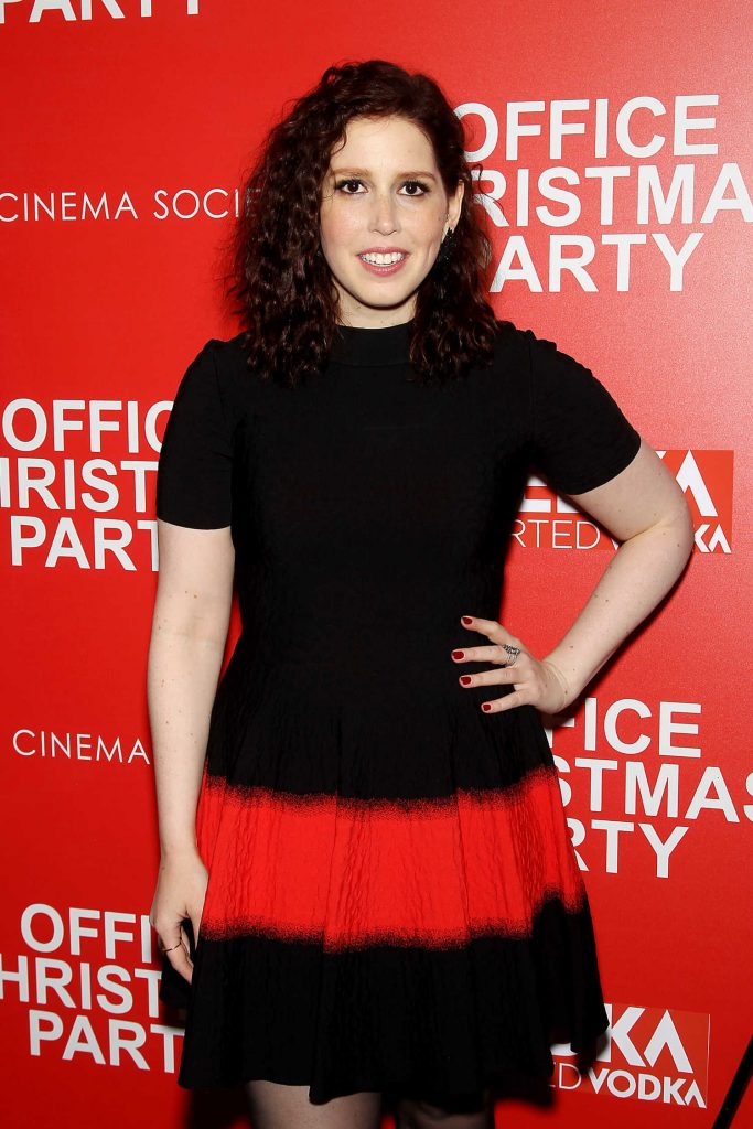 Vanessa Bayer at Office Christmas Party Screening in New York City-3