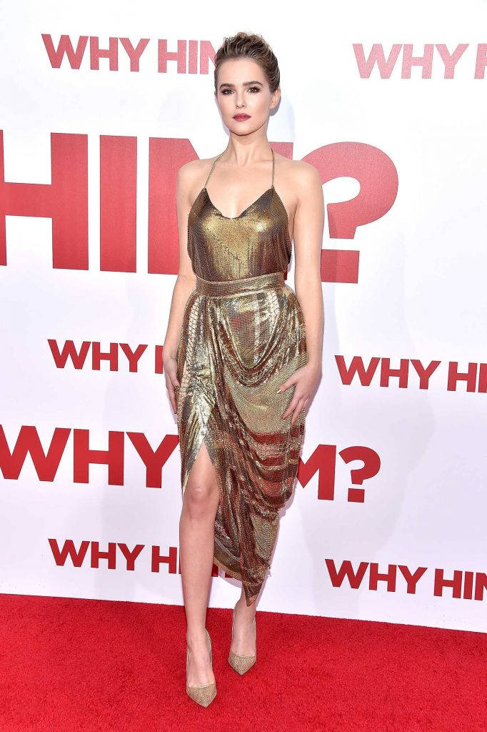 Zoey Deutch at the Why Him? Premiere at the Regency Bruin Theatre in Westwood-1