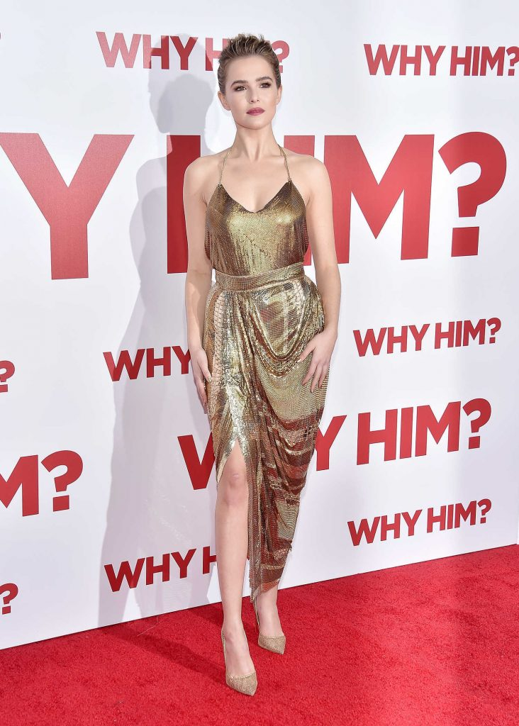 Zoey Deutch at the Why Him? Premiere at the Regency Bruin Theatre in Westwood-2