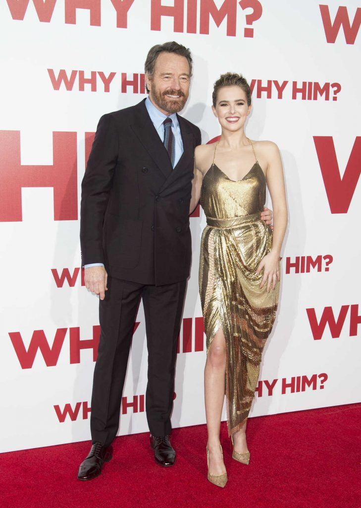 Zoey Deutch at the Why Him? Premiere at the Regency Bruin Theatre in Westwood-3