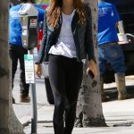 Alexis Ren Stops at a Store in Brentwood