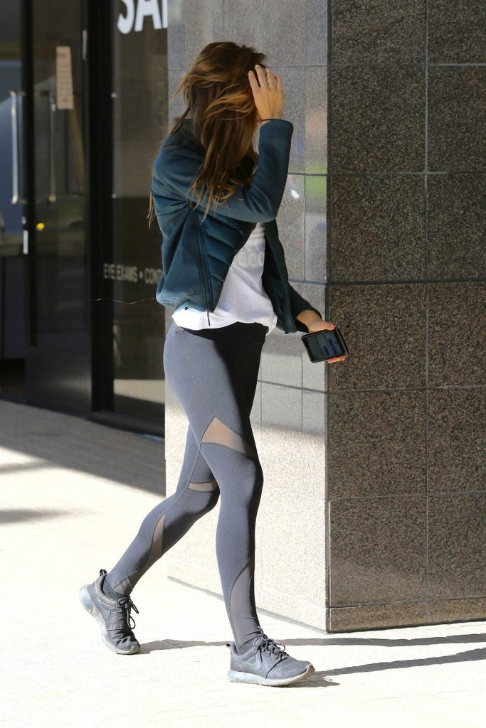 Alexis Ren Stops at a Store in Brentwood-3