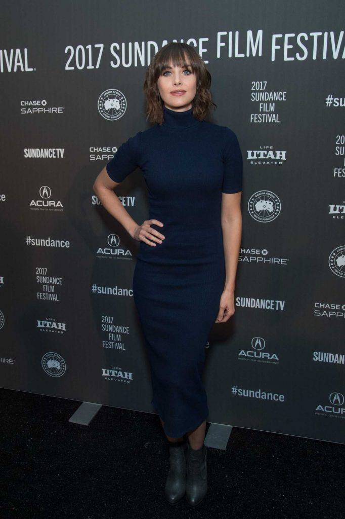Alison Brie at The Little Hours Premiere During Sundance Film Festival-1