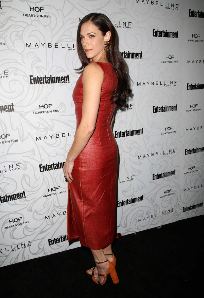 Amanda Righetti at the 2017 Entertainment Weekly Celebration of SAG Award Nominees in Los Angeles-2