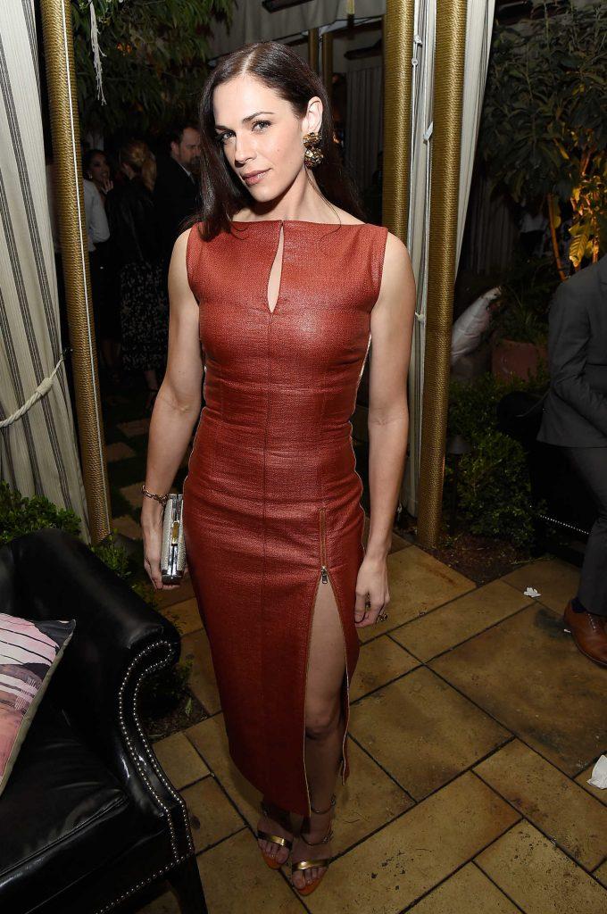 Amanda Righetti at the 2017 Entertainment Weekly Celebration of SAG Award Nominees in Los Angeles-4