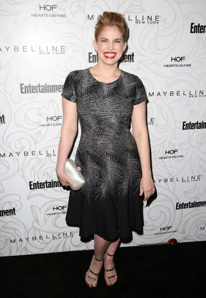 Anna Chlumsky at the 2017 Entertainment Weekly Celebration of SAG Award Nominees in Los Angeles-1