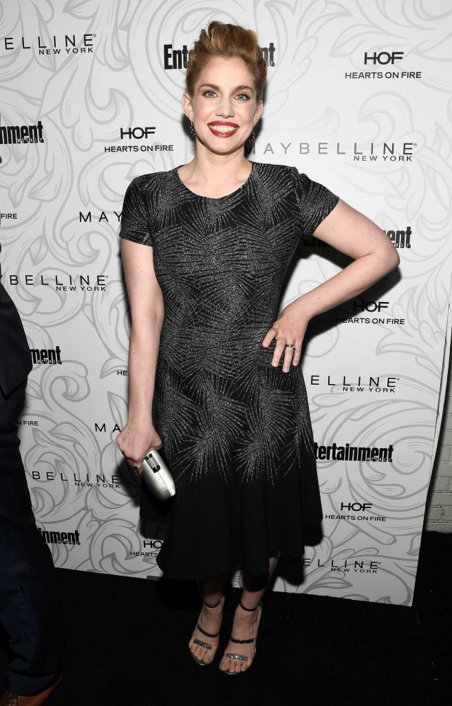 Anna Chlumsky at the 2017 Entertainment Weekly Celebration of SAG Award Nominees in Los Angeles-2