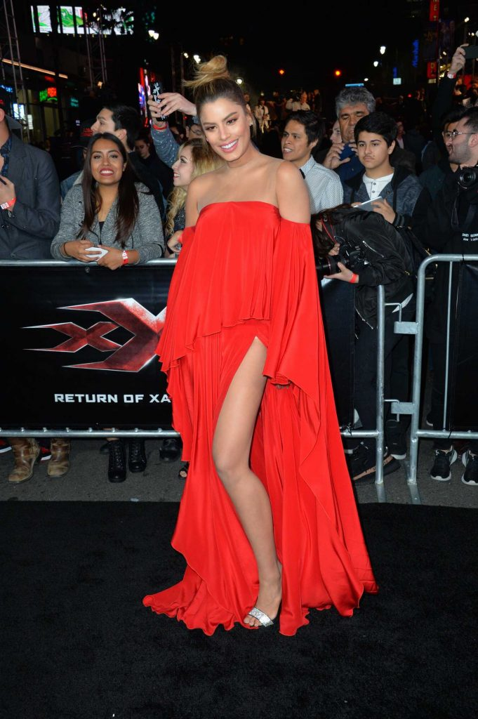 Ariadna Gutierrez at the XXX: Return of Xander Cage Premiere at the TCL Chinese Theatre in Los Angeles-1